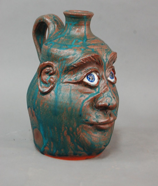 Face jug by Rex Hogan