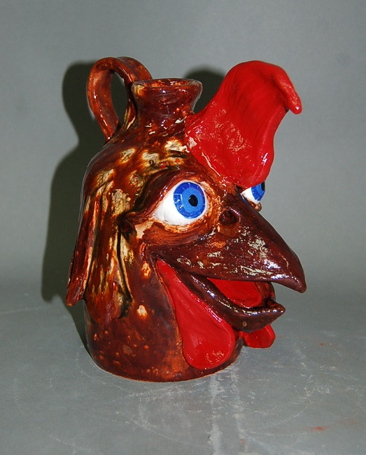 Chicken Jug by Rex Hogan